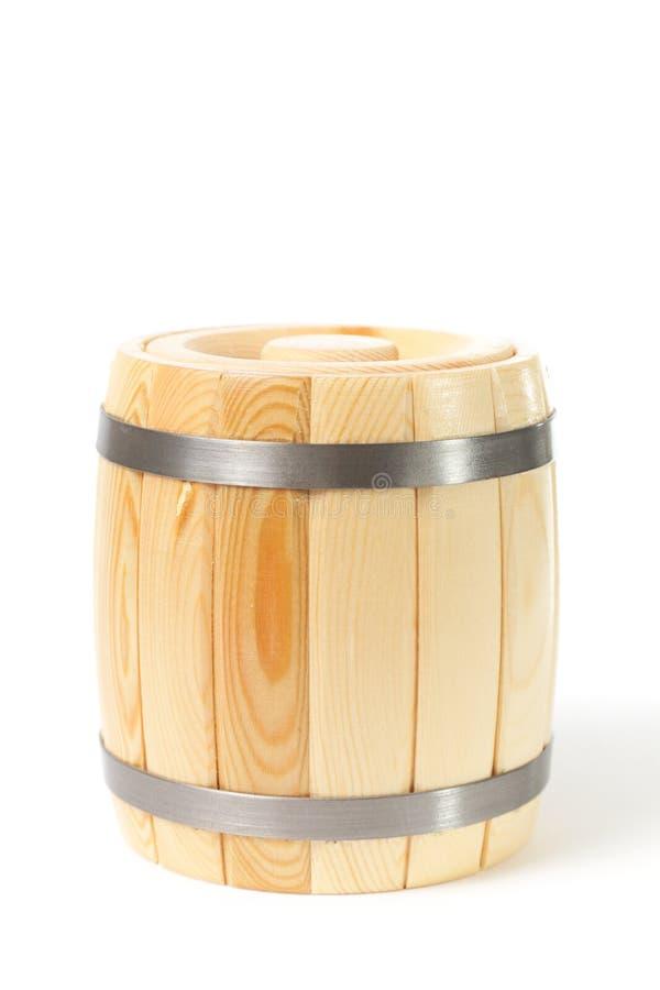 Tambor de madeira fotografia de stock