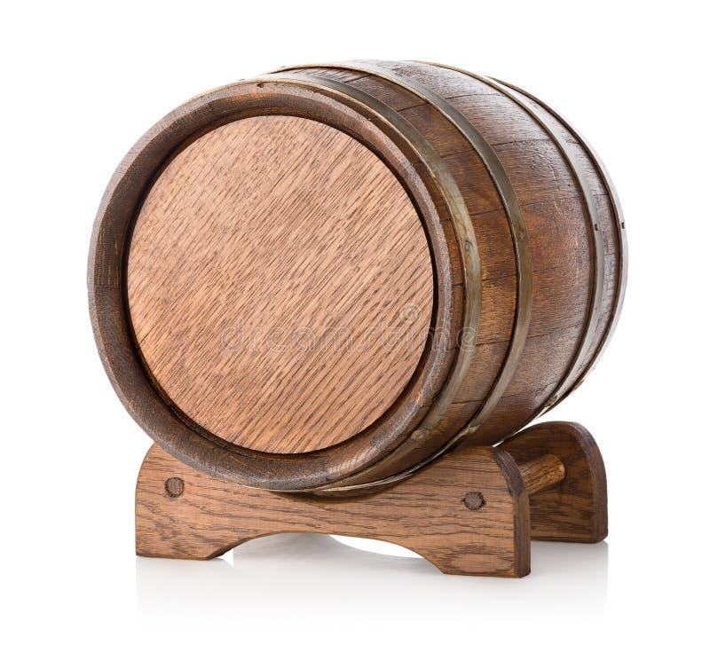 Tambor de madeira no suporte imagens de stock royalty free