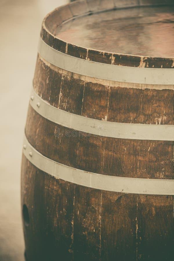 Tambor de madeira velho fotos de stock royalty free