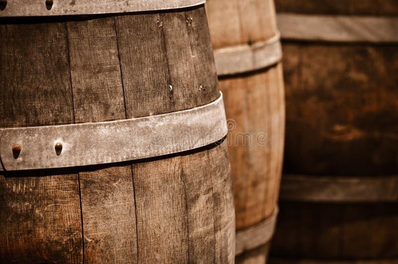 Tambor de vinho imagem de stock royalty free