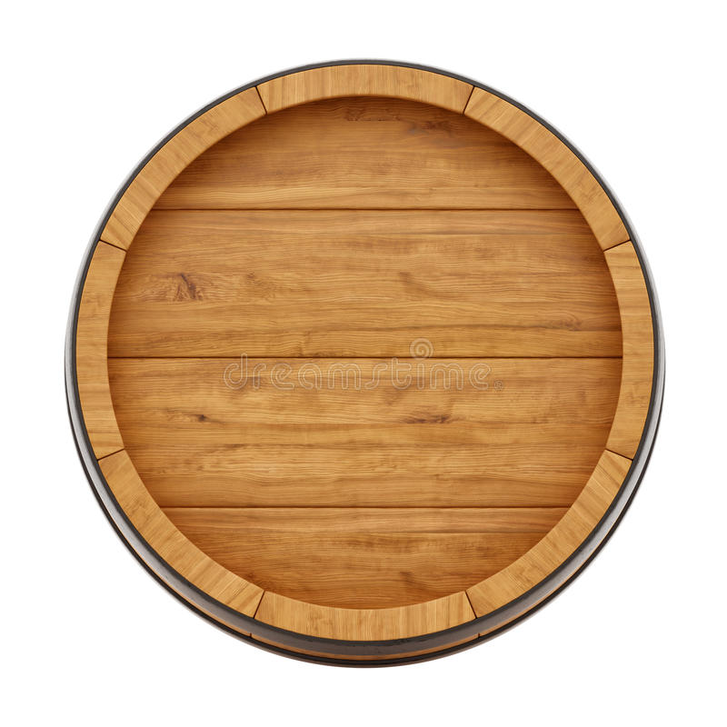 Tambor de vinho ilustração do vetor