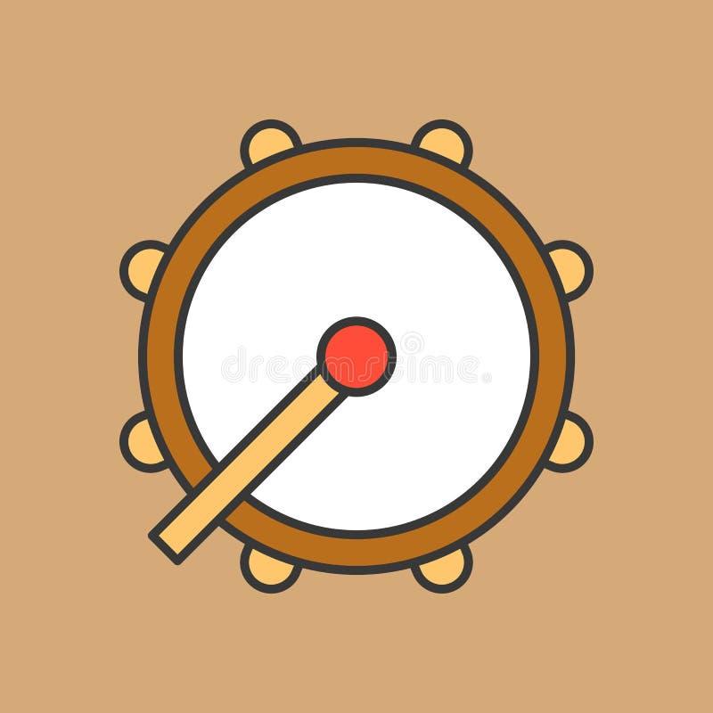 Tambor del Ramadán, icono del tambor libre illustration