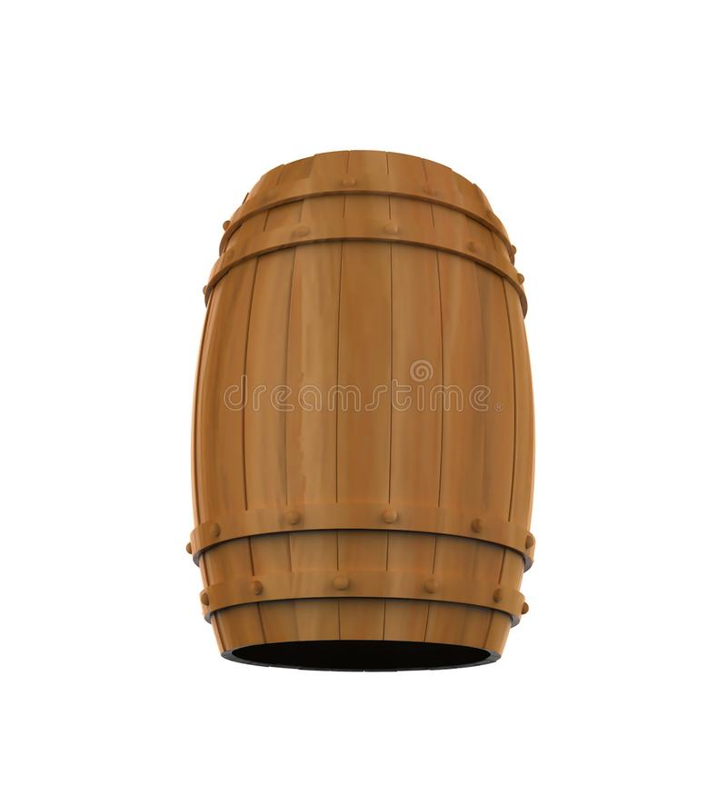 Tambor do álcool, recipiente de bebida ilustração stock
