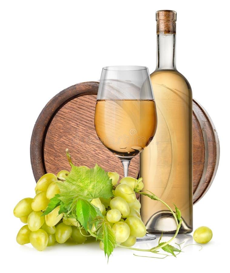 Tambor e vinho de Brown imagem de stock