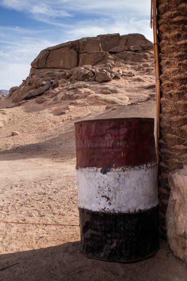 Tambor nacional dos coulors, Egito fotos de stock royalty free