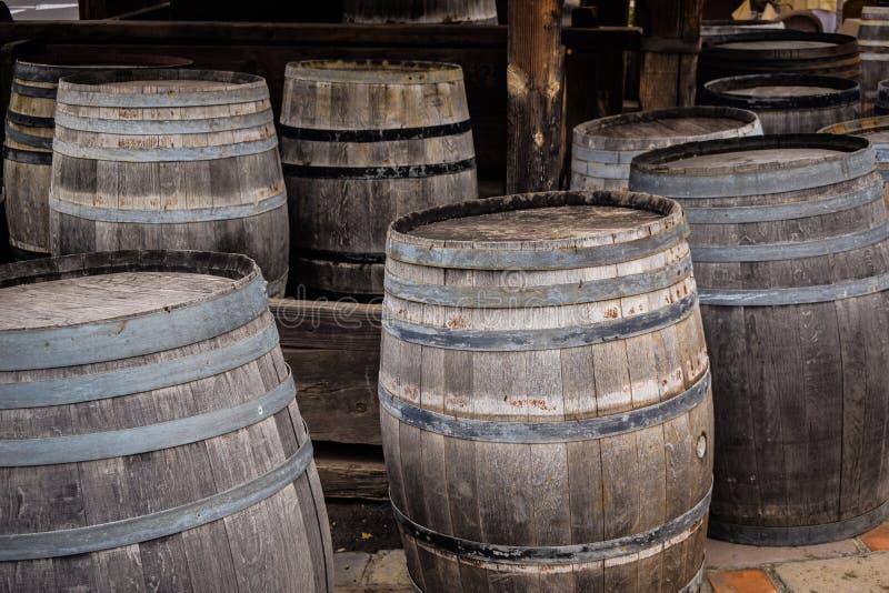Tambores de madeira fotografia de stock