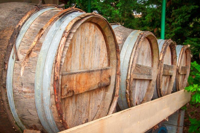Tambores de vinho França imagem de stock royalty free