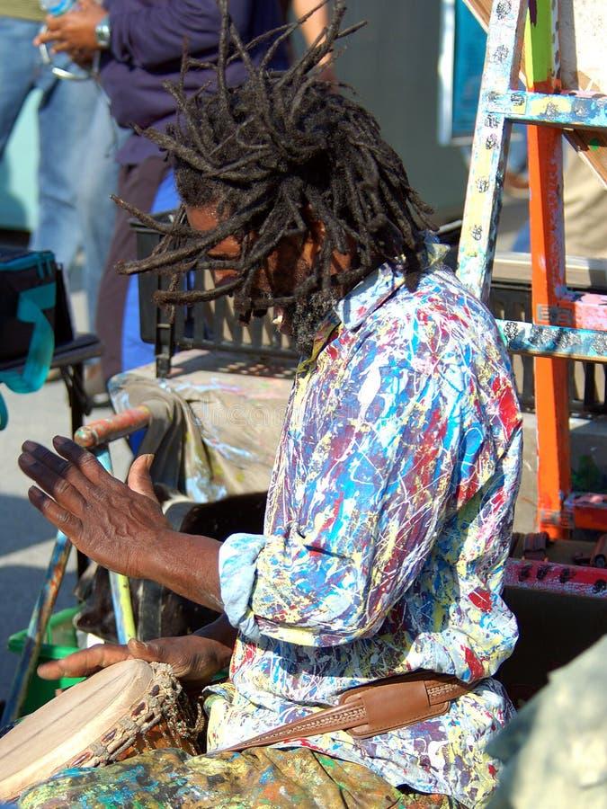 Tambores para la paz 1 imagen de archivo libre de regalías