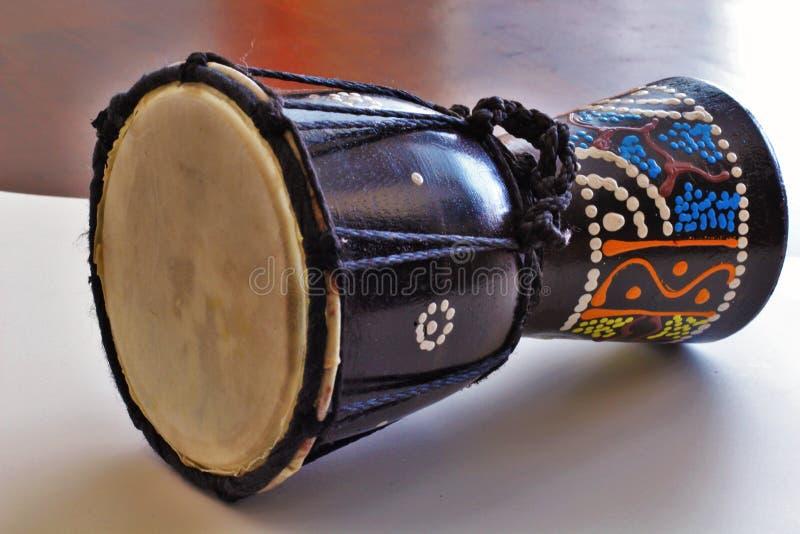 Tambour africain de Djembe photo stock