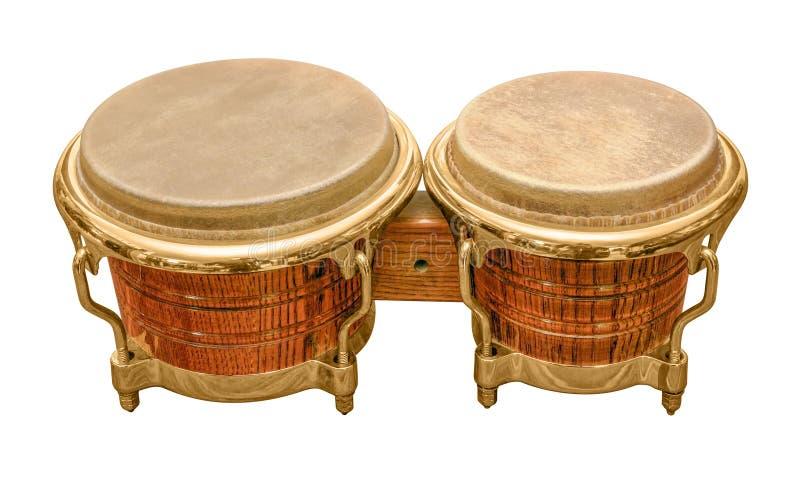 Tambour de bongo photo stock