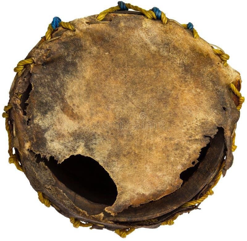 Tambour extérieur de cuir de larme photographie stock libre de droits