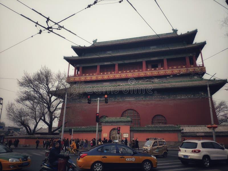 Tambour-tour dans Pékin image stock