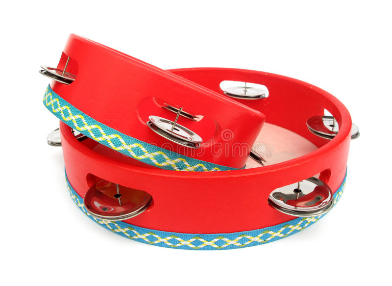 Tambourine. The tambourine or Marine (commonly called Tambo) is a musical instrument of the percussion family consisting of a frame, often of wood or plastic stock images