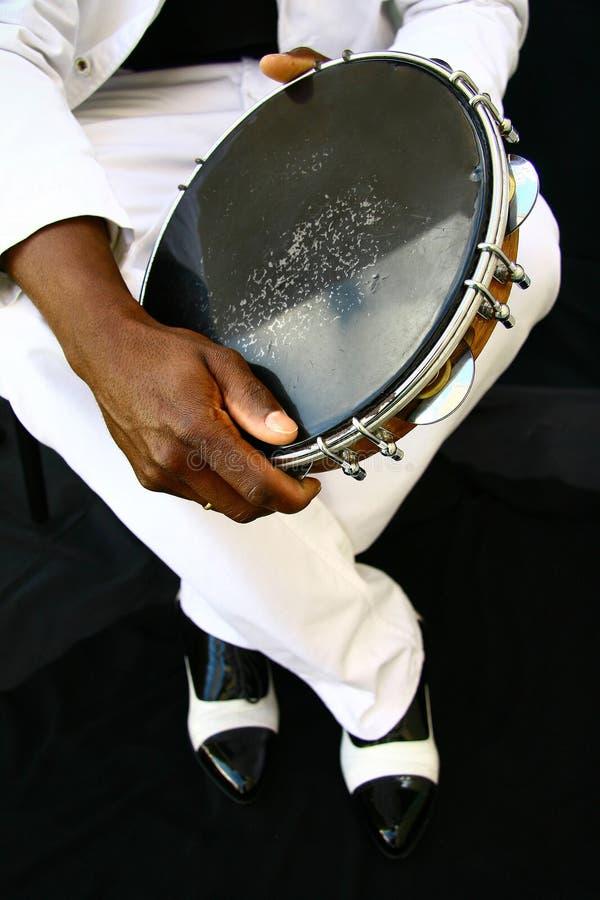 Tambourine immagini stock