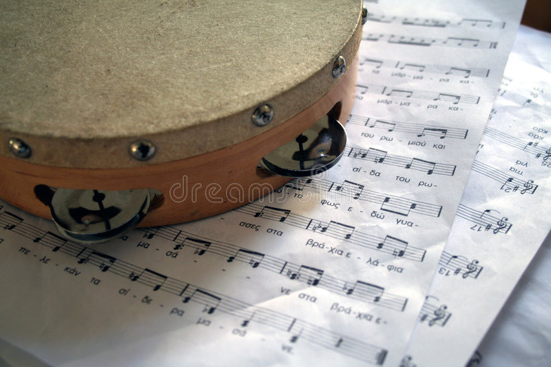 Download Tambourine Royalty Free Stock Photo - Image: 305535