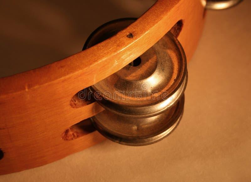Tambourine lizenzfreies stockfoto