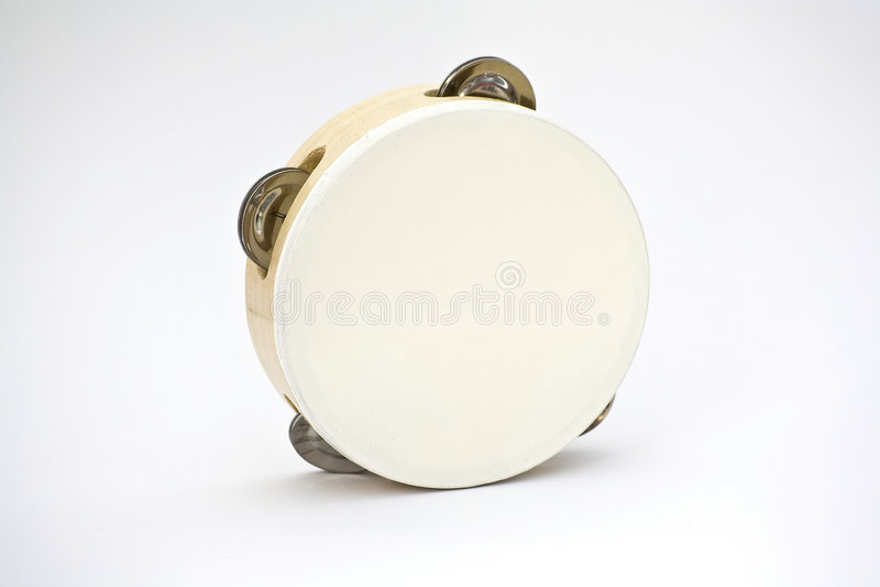 Tambourine fotografia stock
