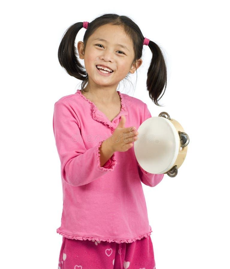 Tambourine stock image