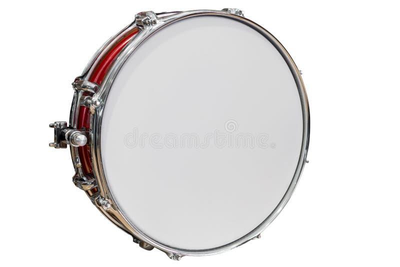 Tambourine isolated on white background. Image of tambourine isolated on white background royalty free stock photography