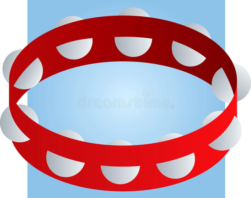 Tambourine Percussion Musical Instrument Royalty Free Stock Images