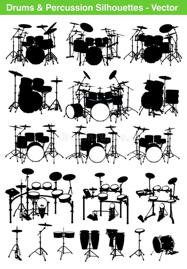 Tambours illustration libre de droits