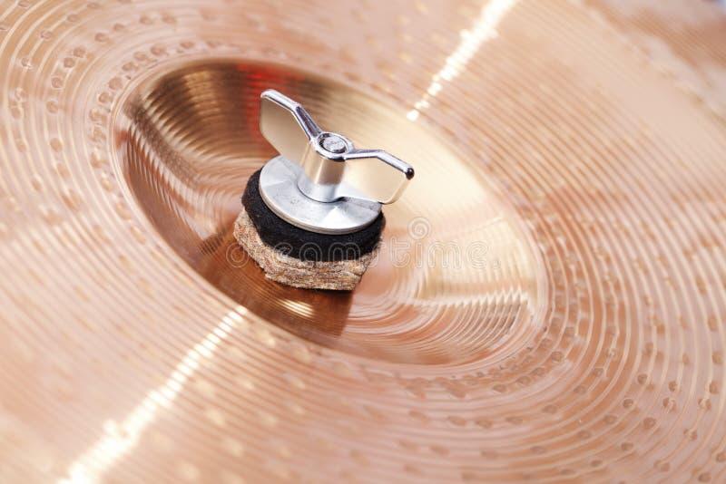 Tambours, cymbales, plan rapproché photo stock