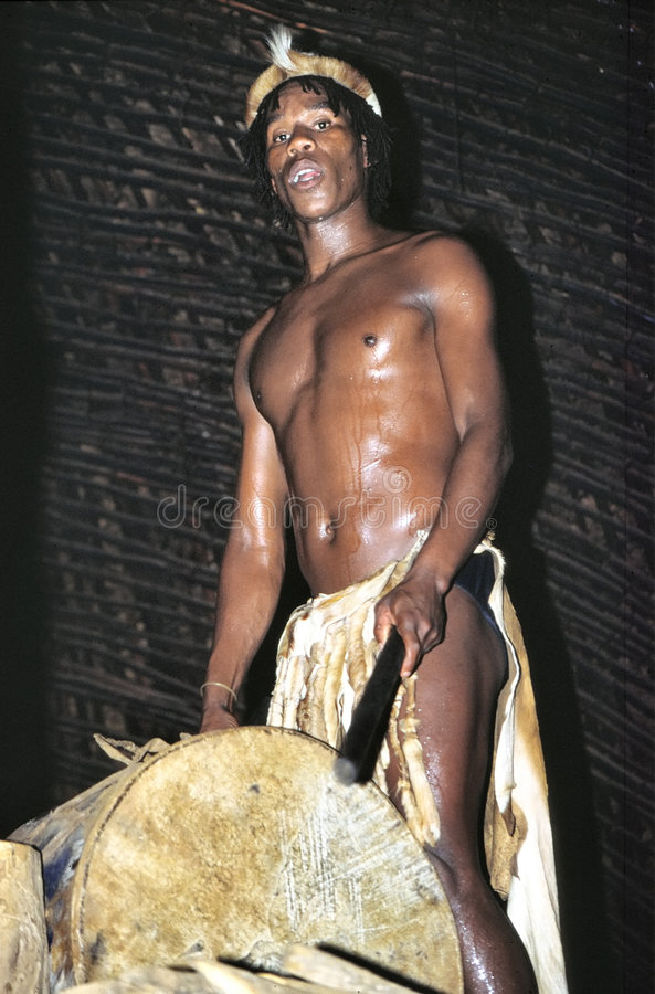 Tambours de zoulou photos libres de droits