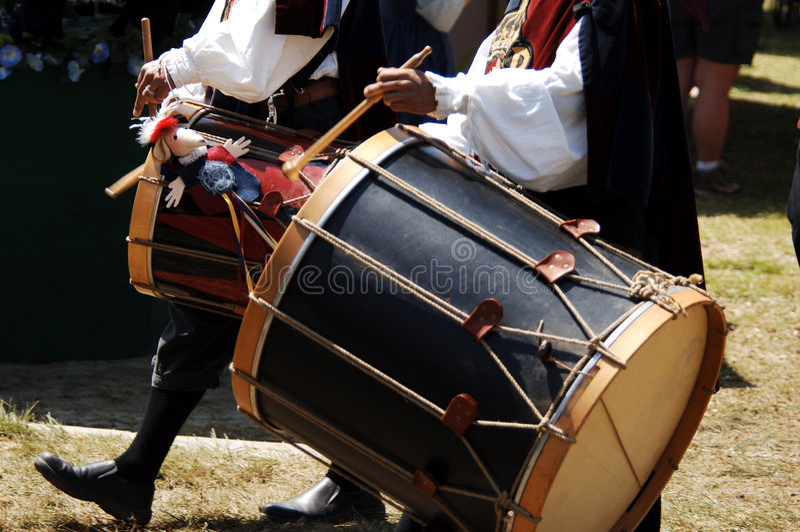 Tambours des Reines photo stock