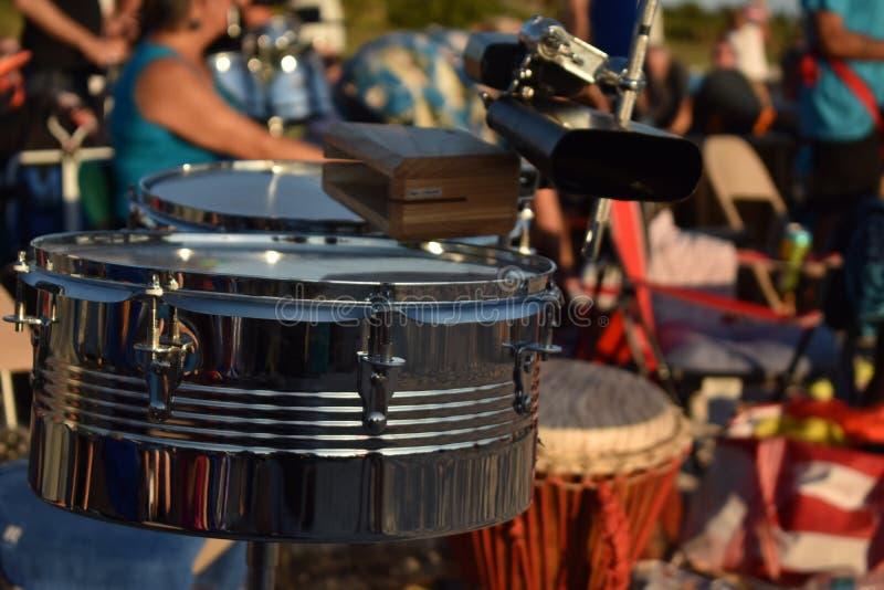 tamburi immagine stock