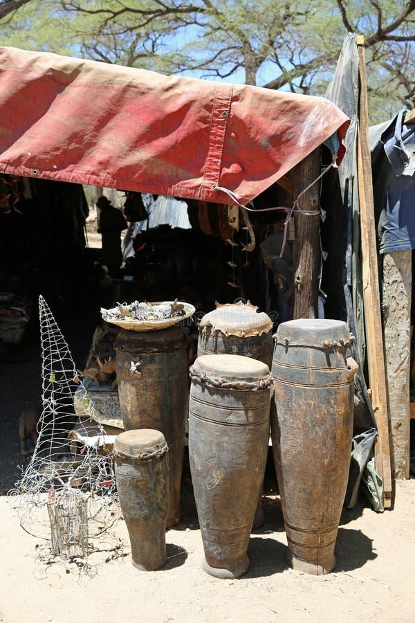Tamburi africani fotografia stock libera da diritti