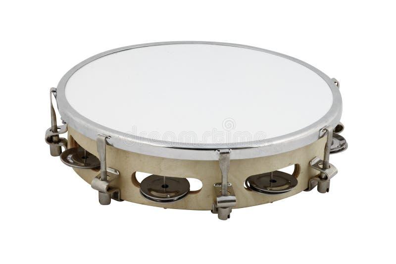 tamburin royaltyfria bilder