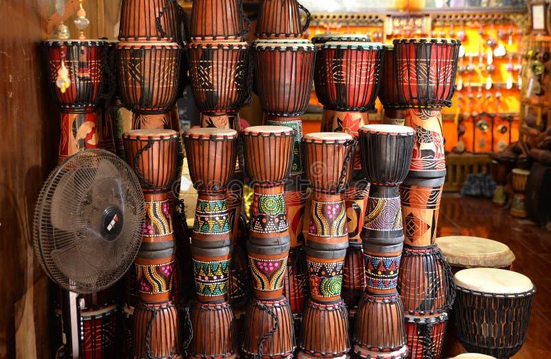 Tamburino africano fotografie stock