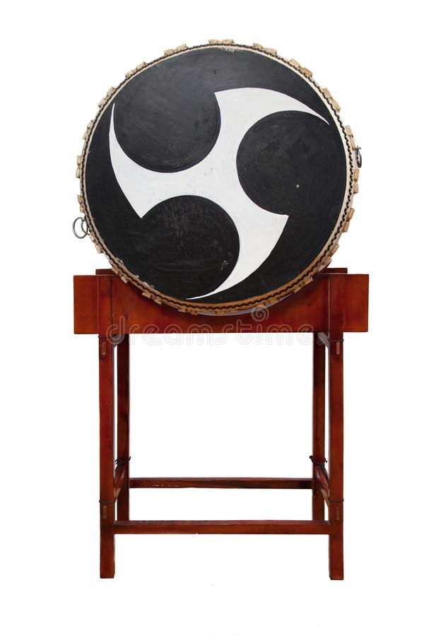 Tamburo cinese fotografia stock