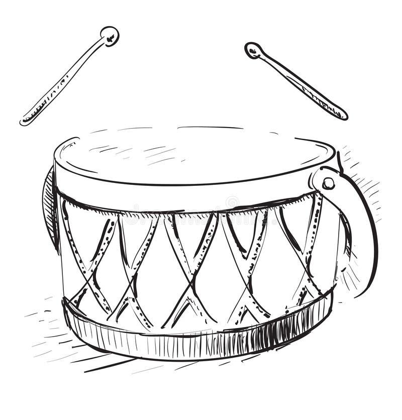 Tamburo di musica royalty illustrazione gratis