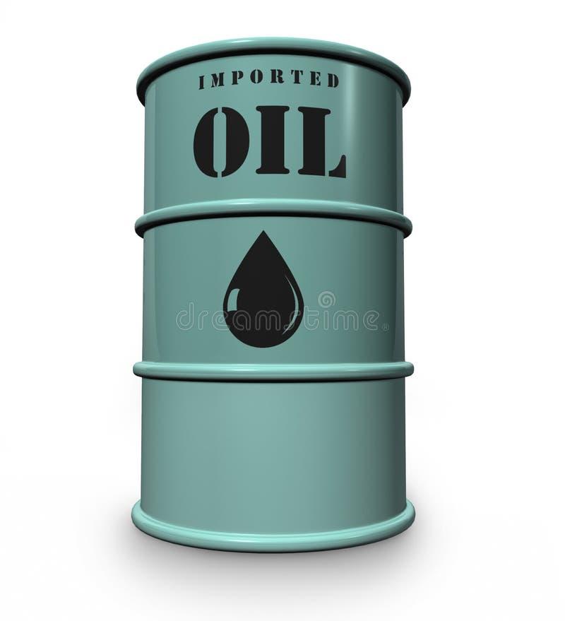 Tamburo di olio illustrazione di stock