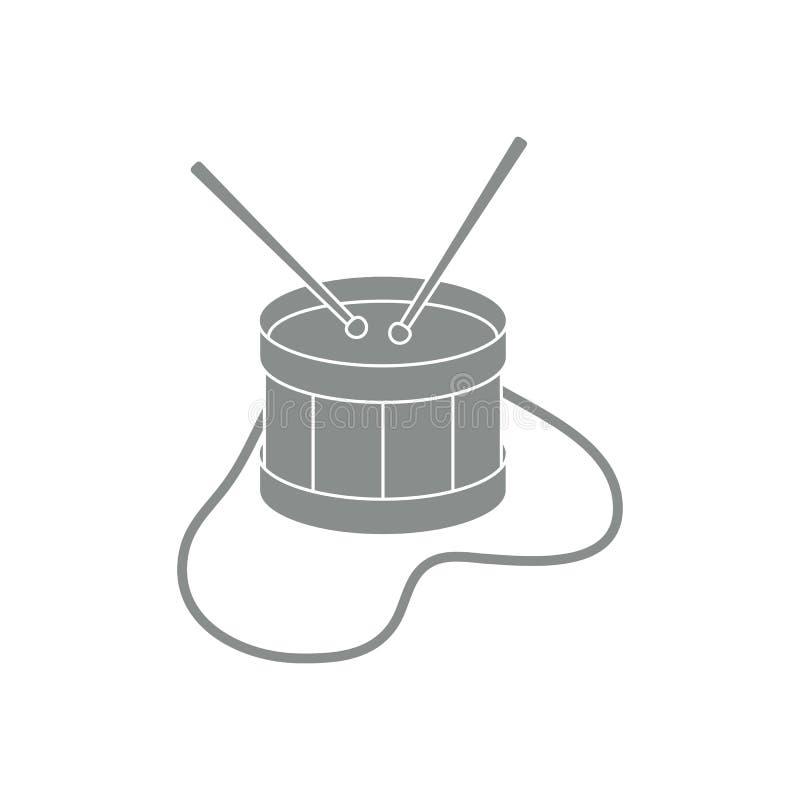 Tamburo Strumento musicale giocattolo royalty illustrazione gratis