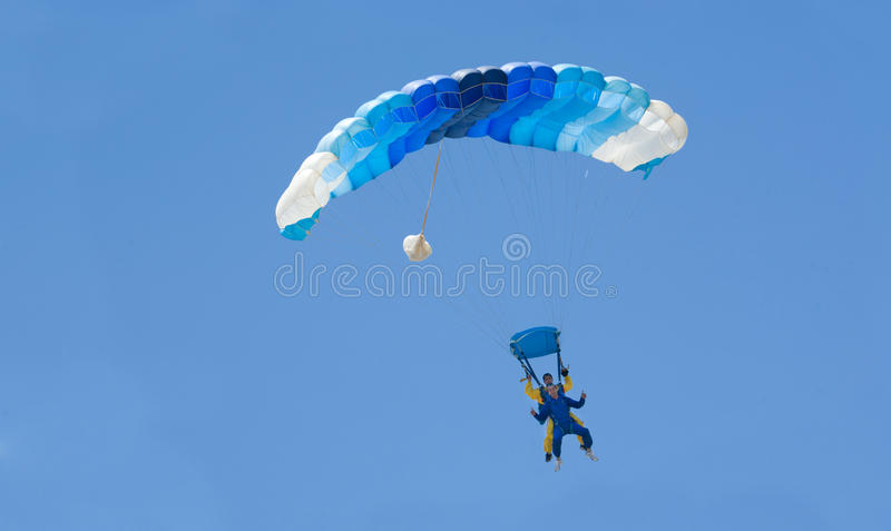 Download Tamdem greetings editorial photo. Image of parachute - 32374101