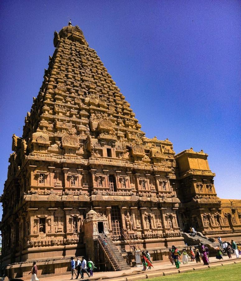 Tamil Nadu de Thanjavur imagen de archivo libre de regalías