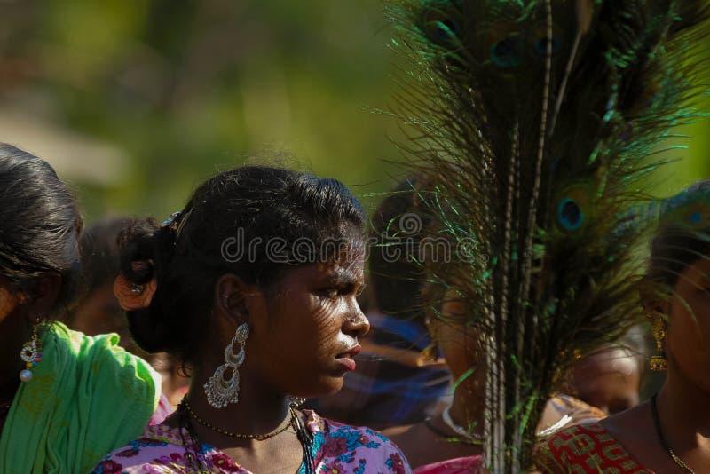 TAMIL NADU, INDE - Narikurava dans la photographie image stock