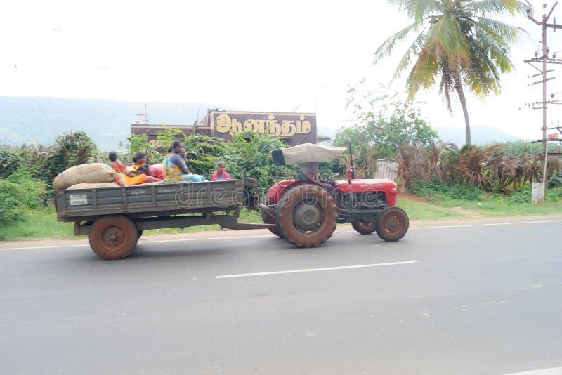 Tamilnadu-Dorfbewohner stockfotos