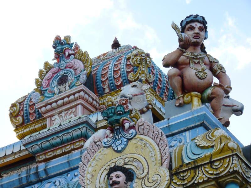 Tamilska Surya Oudaya Sangam świątynia fotografia stock