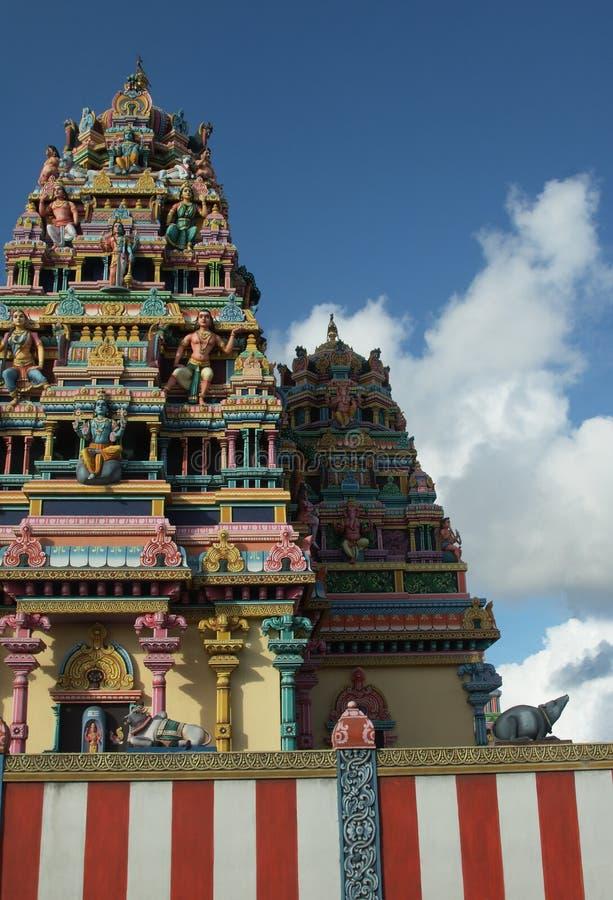 tamiltempel royaltyfri fotografi