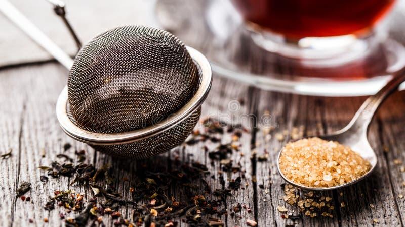 Tamiz del té imagen de archivo libre de regalías