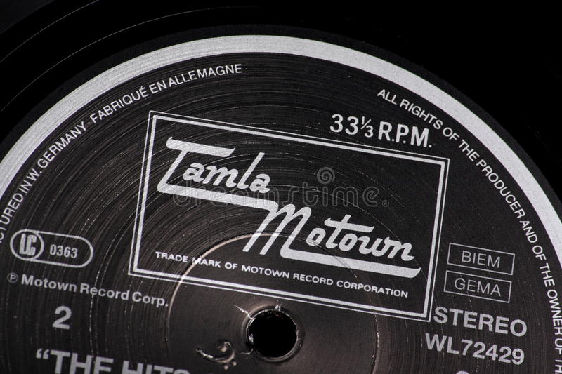 Tamla Motown Editorial Stock Photo Image Of Detail
