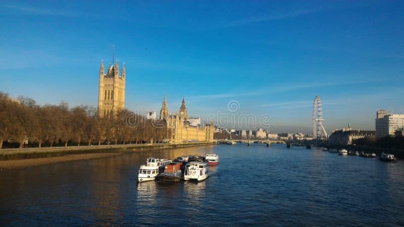 Tamme rivier royalty-vrije stock afbeeldingen