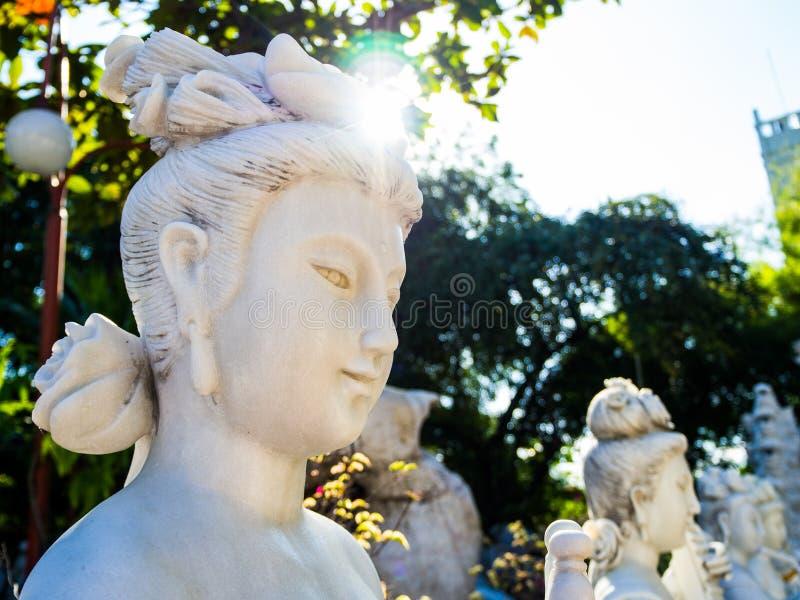 Tamnak-phra mae Kuan-Im stockfotografie