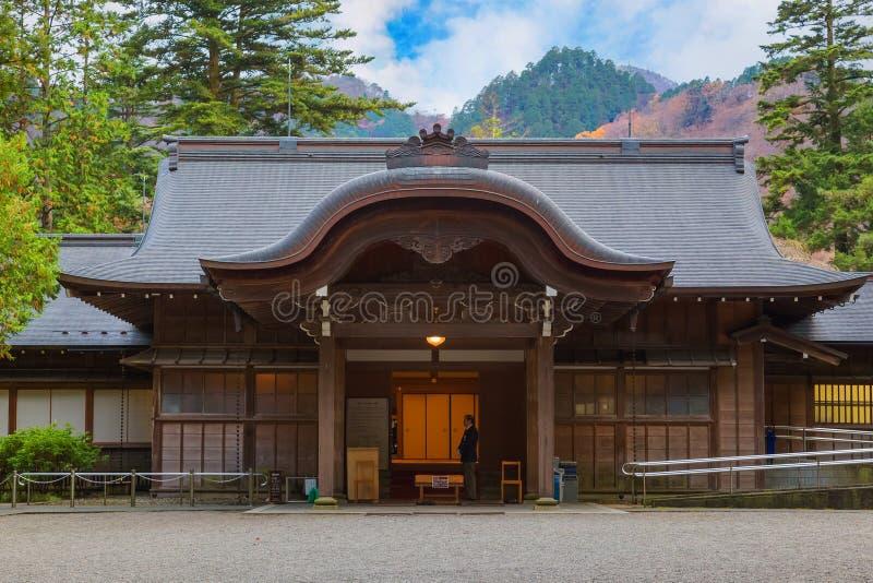 Tamozawa Imperial Villa in NIkko, Japan royalty free stock image