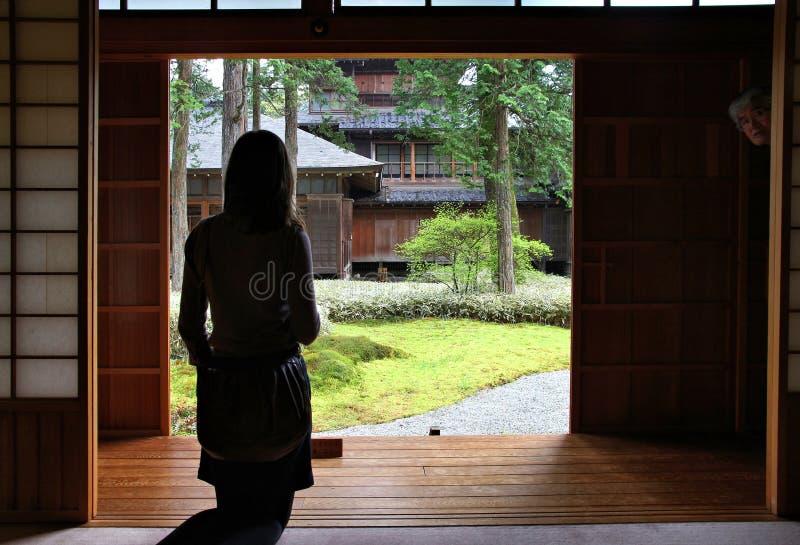 Tamozawa imperialistisk villa royaltyfri foto
