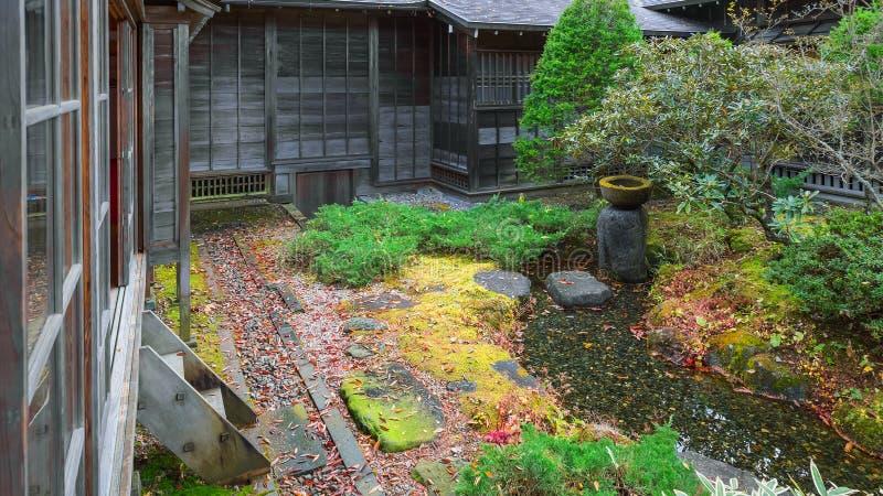 Tamozawa imperialistisk villa i Nikko, Japan royaltyfri fotografi