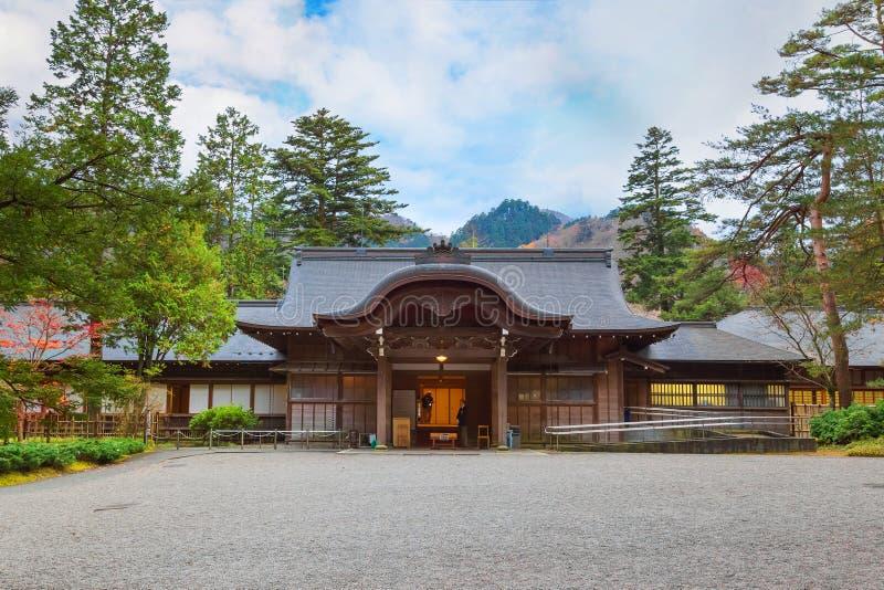 Tamozawa imperialistisk villa i Nikko, Japan arkivbilder